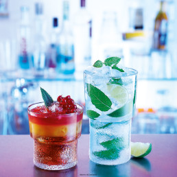 Glasserie Disco Lounge, Whisky-Becher 21cl, Table roc